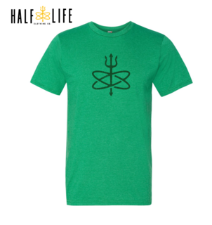 St Patrick S Day Four Leaf Atomic Trident Of Poseidon