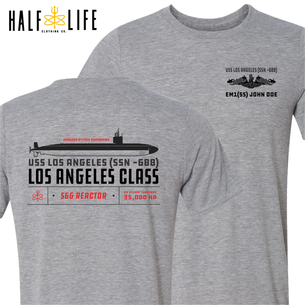 Los Angeles Class Nuclear Submarine t-shirt, hoodies, decals, mugs and more
