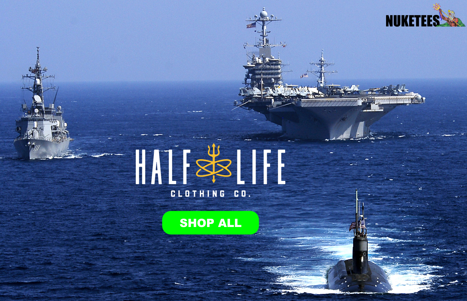 Half-Life Clothing Company - Navy Nuclear Power