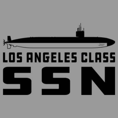 Los Angeles Class Attack Submarine - Light Ladies Long Sleeve Ultra Performance Active Lifestyle T Shirt Design