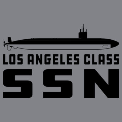 Los Angeles Class Attack Submarine - (S) Kinergy Training Light Color Tee Design