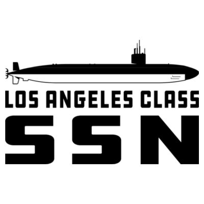 Los Angeles Class Attack Submarine - American Apparel Unisex T-Shirt Design