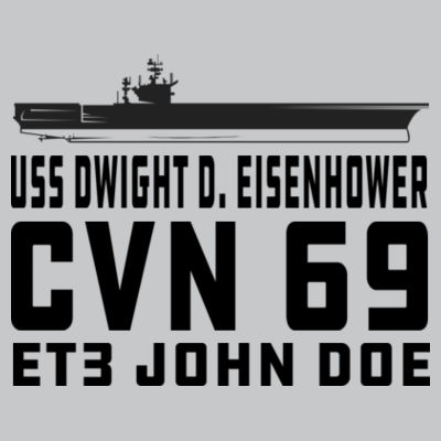 Custom: Nimitz Class Aircraft Carrier (Carrier) - Light Youth/Adult Ultra Performance Active Lifestyle T Shirt Design