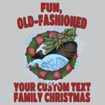 USS Griswold Fun, Old-Fashioned Christmas  - Light Youth/Adult Ultra Performance Active Lifestyle T Shirt Design