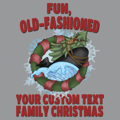 USS Griswold Fun, Old-Fashioned Christmas  - Light Ladies Ultra Performance Active Lifestyle T Shirt Design