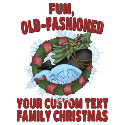 USS Griswold Fun, Old-Fashioned Christmas  - American Apparel Unisex T-Shirt Design