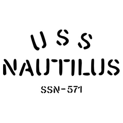 USS Nautilus - Underway on Nuclear Power - American Apparel Unisex T-Shirt Design