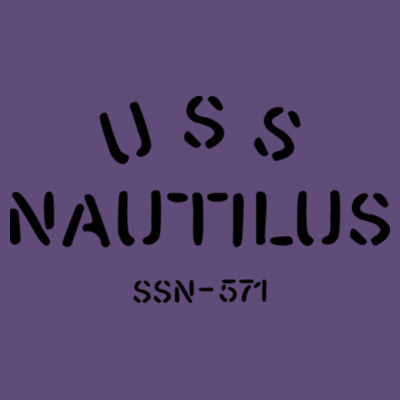 USS Nautilus - Underway on Nuclear Power - Ladies' Softstyle®  4.5 oz. Racerback Tank (S) Design