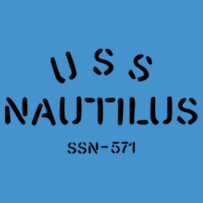 USS Nautilus - Underway on Nuclear Power - Adult Softstyle® 4.5 oz. Heather Color T-Shirt (S) Design