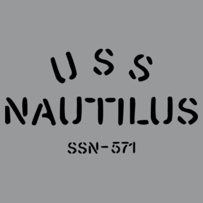 USS Nautilus - Underway on Nuclear Power - Light Long Sleeve Ultra Performance Active Lifestyle T Shirt Design