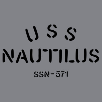 USS Nautilus - Underway on Nuclear Power - (S) Kinergy Training Light Color Tee Design