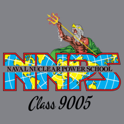 NNPS Alumnus with Poseiden & Class Number - (S) Kinergy Training Light Color Tee Design