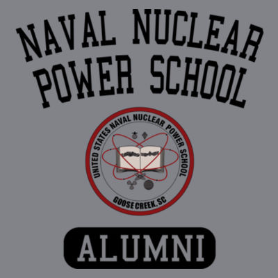 Naval Nuclear Power School Goose Creek, SC Alumni (Vertical) - (S) Kinergy Training Light Color Tee Design
