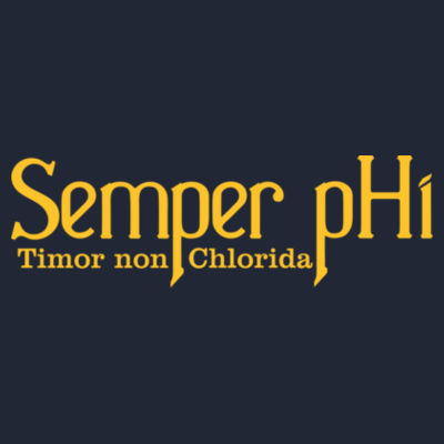 Semper pHi - Timor non Chlorida - Adult Triblend Long-Sleeve Hoody Design