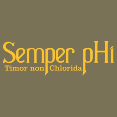 Semper pHi - Timor non Chlorida - Unisex or Youth Ultra Cotton™ 100% Cotton T Shirt Design