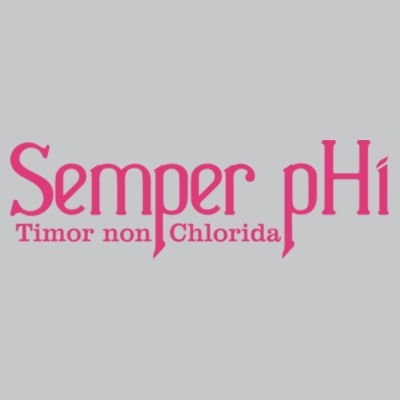 Semper pHi - Timor non Chlorida  - Light Youth/Adult Ultra Performance Active Lifestyle T Shirt Design