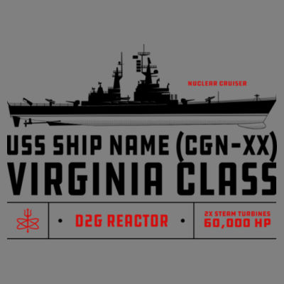 Virginia Class Cruiser - Polar Camel 20 oz. Tall Stainless Steel Vacuum Insulated Tumbler Design