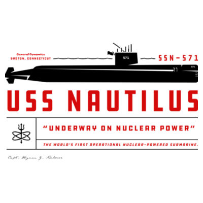 USS Nautilus - Underway on Nuclear Power - Polar Camel 20 oz. Tall Stainless Steel Vacuum Insulated Tumbler Design