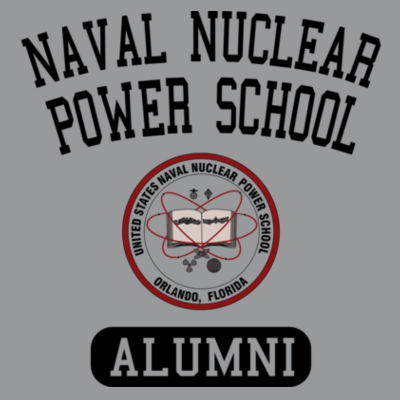 Naval Nuclear Power School Orlando Alumni (Vertical) - Light Ladies Long Sleeve Ultra Performance Active Lifestyle T Shirt Design