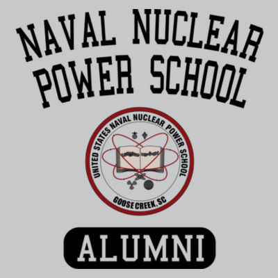 Naval Nuclear Power School Goose Creek, SC Alumni (Vertical) - Light Youth/Adult Ultra Performance Active Lifestyle T Shirt Design