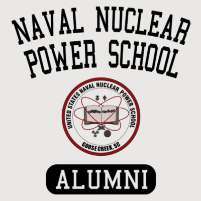 Naval Nuclear Power School Goose Creek, SC Alumni (Vertical) - Light ALO Sport Ladies' Polyester T-Shirt Design