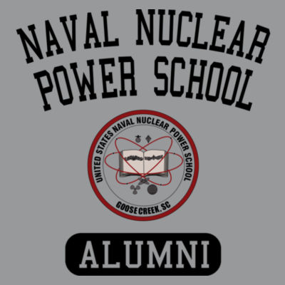 Naval Nuclear Power School Goose Creek, SC Alumni (Vertical) - Light Ladies Long Sleeve Ultra Performance Active Lifestyle T Shirt Design