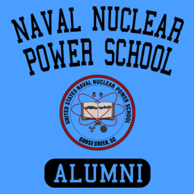 Naval Nuclear Power School Goose Creek, SC Alumni (Vertical) - Ladies' Flowy V-Neck Tank Design