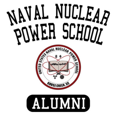 Naval Nuclear Power School Goose Creek, SC Alumni (Vertical) - American Apparel Unisex T-Shirt Design