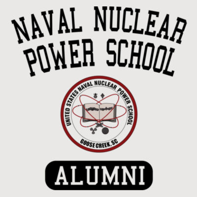Naval Nuclear Power School Goose Creek, SC Alumni (Vertical) - ALO 100% Performance Youth Baseball T-Shirt Design
