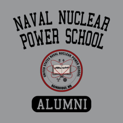 Naval Nuclear Power School Bainbridge Alumni (Vertical)  - Light Youth Long Sleeve Ultra Performance Active Lifestyle T Shirt Design