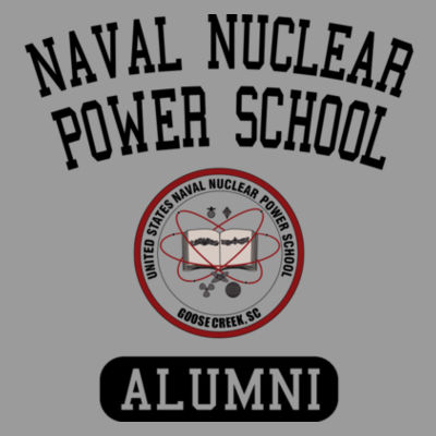 Naval Nuclear Power School Goose Creek, SC Alumni (Vertical) - Bella Ladies' Flowy Racerback Tank (S) Design