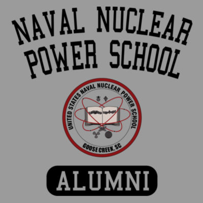 Naval Nuclear Power School Goose Creek, SC Alumni (Vertical) - Bella Flowy Scoop Muscle Tank (S) Design