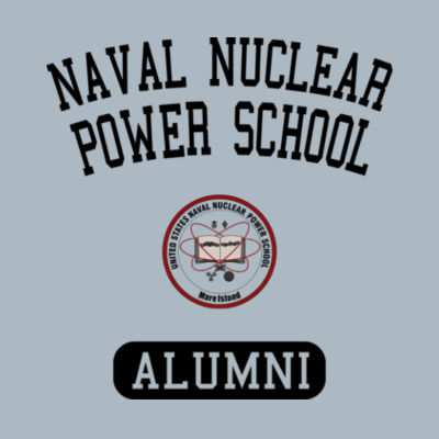 NNPS Alumni - Mare Island (Vertical) - JAmerica Unisex Poly Fleece Striped Pullover Hoodie Design