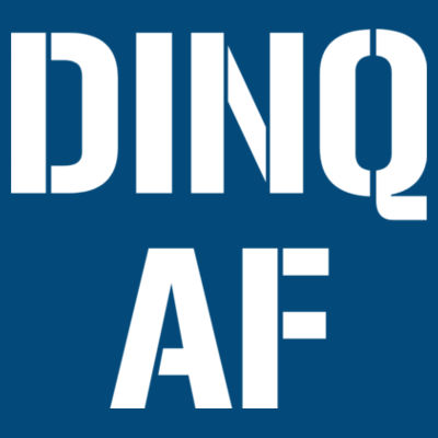 DINQ AF - LAT Adult Football Fine Jersey T-Shirt Design