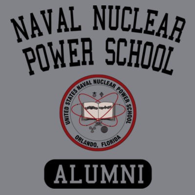 Naval Nuclear Power School Orlando Alumni (Vertical) - (S) Kinergy Training Light Color Tee Design