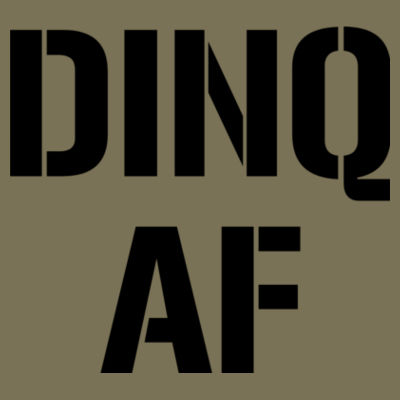Dinq AF - Unisex or Youth Ultra Cotton™ 100% Cotton T Shirt Design