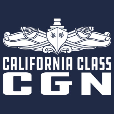 California Class Cruiser (SW) - DryBlend™ Pullover Unisex Hooded Sweatshirt Design