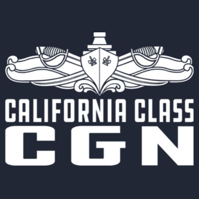 California Class Cruiser (SW) - Men's Triblend Long-Sleeve Crew Design