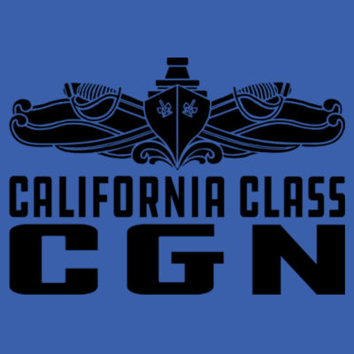 California Class Cruiser (SW) - Adult Lightweight Long-Sleeve Hooded T-Shirt Design