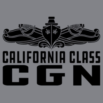 California Class Cruiser (SW) - (S) Kinergy Training Light Color Tee Design