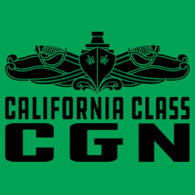 California Class Cruiser (SW) - Lightweight T-Shirt Design