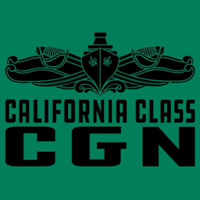 California Class Cruiser (SW) - Adult 5 oz. HD Cotton™ T-Shirt (S) Design