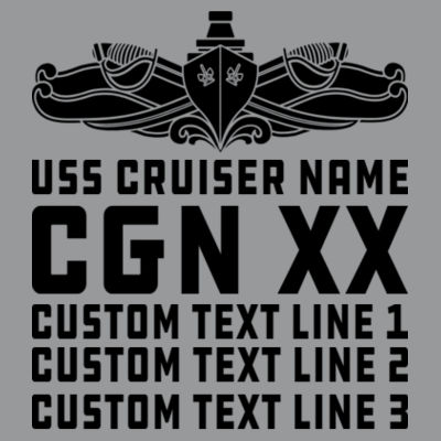 Personalized California Class Cruiser (SW) - Light Long Sleeve Ultra Performance Active Lifestyle T Shirt Design