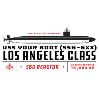 Custom Los Angeles Class Submarine - 11 oz Ceramic Mug (HLCC1) Design