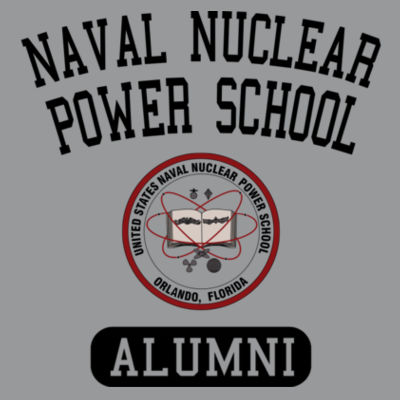Naval Nuclear Power School Orlando Alumni (Vertical) - Light Long Sleeve Ultra Performance Active Lifestyle T Shirt Design