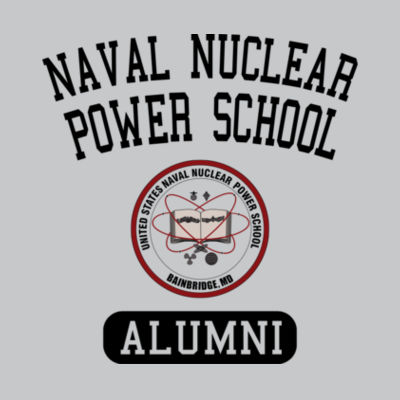 Naval Nuclear Power School Bainbridge Alumni (Vertical)  - Light Youth/Adult Ultra Performance Active Lifestyle T Shirt Design
