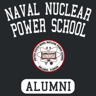 Naval Nuclear Power School Orlando Alumni (Vertical) - Unisex or Youth Ultra Cotton™ 100% Cotton T Shirt Design