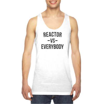 Reactor vs Everybody - American Apparel Unisex Sublimation Tank Thumbnail