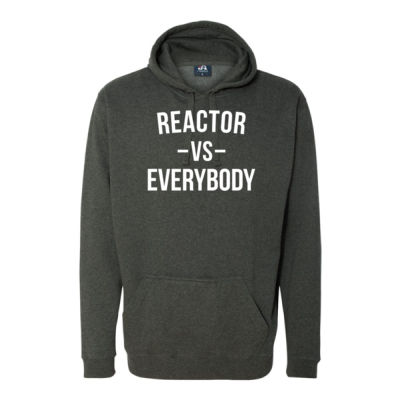 Reactor vs Everybody - Triblend Short Sleeve T-Shirt - Tailgate Hoodie with Beverage Insulator & Bottle Opener Thumbnail