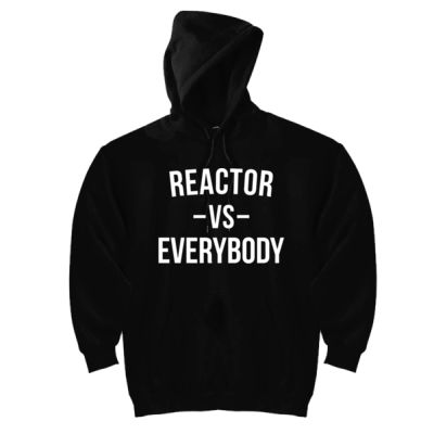 Reactor vs Everybody - Triblend Short Sleeve T-Shirt - DryBlend™ Pullover Unisex Hooded Sweatshirt Thumbnail
